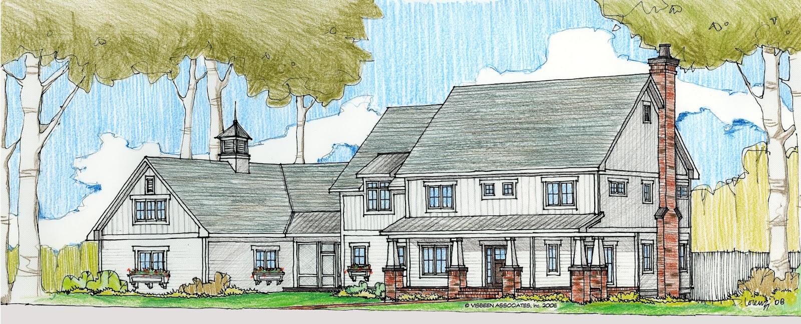 Architectural tutorial the american farmhouse for American farmhouse style architecture