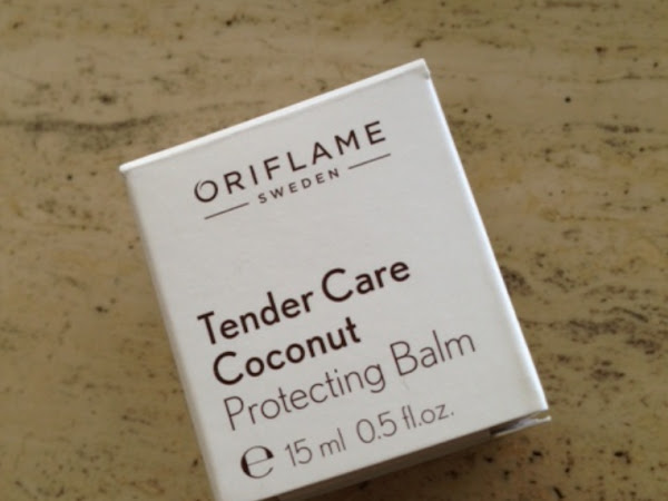 Oriflame Tender Care coconut protecting balm.