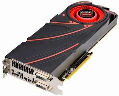 GPU AMD Radeon R9 290X - 478x388