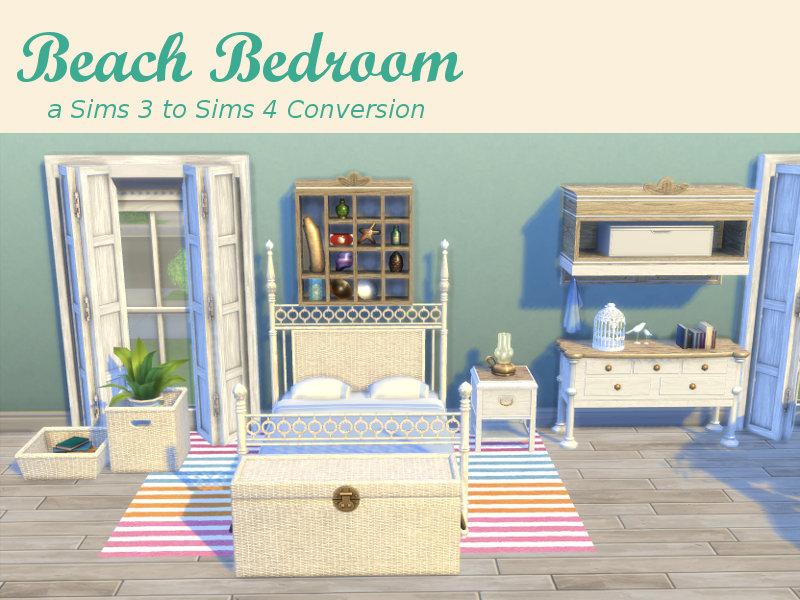 TS3 Beach Bedroom Set Conversion By LeanderBelgraves