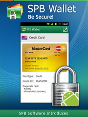Android phones protected with SPB Wallet app