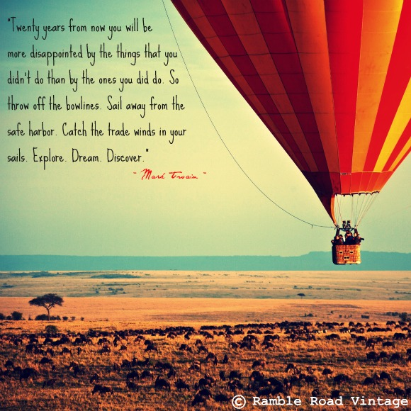 Quotes About Flying In A Hot Air Balloon 82
