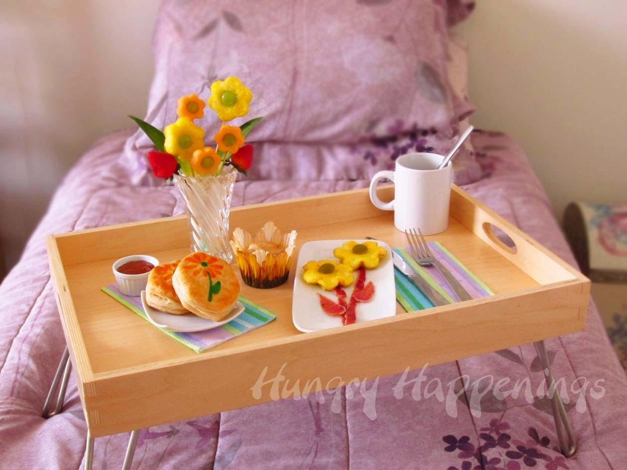 como fazer café da manhã especial dia das mães ovo bacon pão