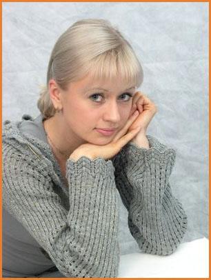 charming russian girl