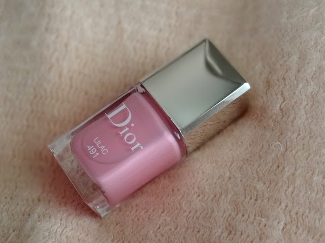 Dior Vernis Lilac 491 | Dior Glowing Gardens Spring 2016 Collection