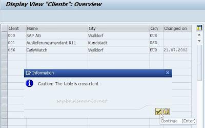 Create new SAP Client