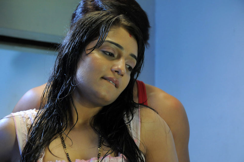 Nikhita Telugu Movie Apartment Stills