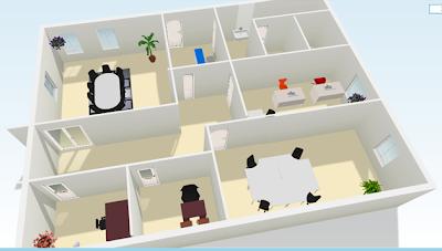 Bolsiel s a proyecto de fin de curso planos oficina for Croquis de oficinas administrativas