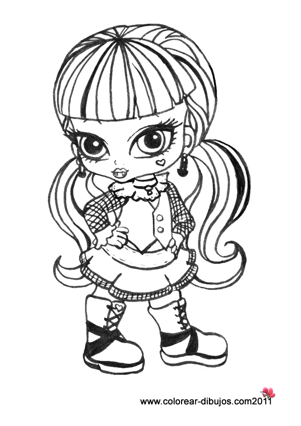 Dibujos de monster high ~ Vida Blogger