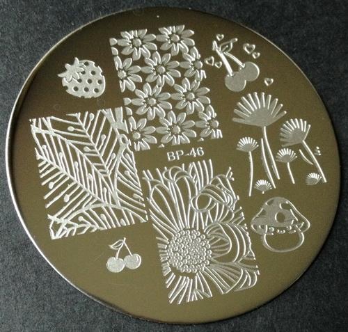 BP-46 nail stamping plate at BornPrettyStore