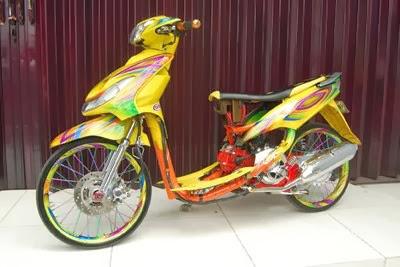 Modifikasi Motor Yamaha Mio Sporty Terbaru . Semoga bisa menjadi ide title=