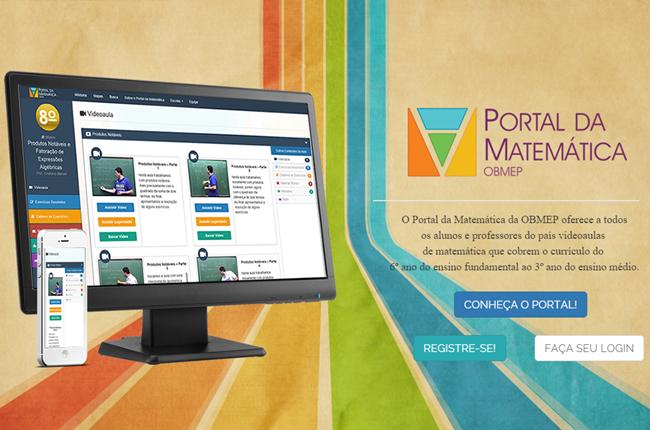 Convite: Conheça o Portal da Matemática, ele está cada vez melhor estruturado!