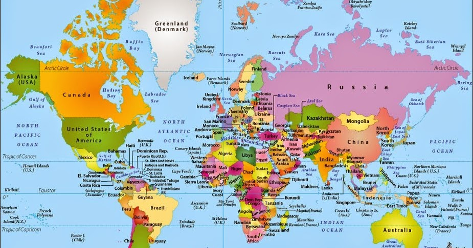 Travels My Personalized Visited Countries World Map Flickr. Map Of ...