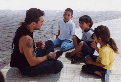 Una foto di Vittorio Arrigoni