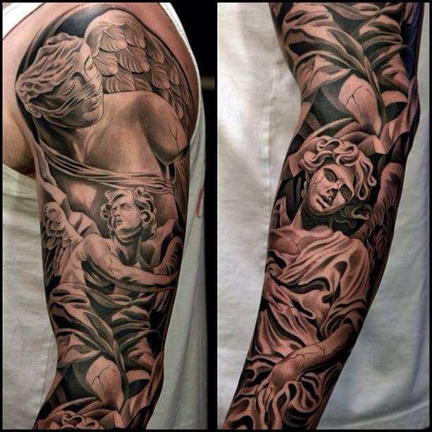 Angel Arm Tattoos