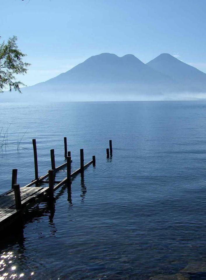Lake Atitlán,Guatemala: