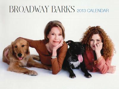 2013 Broadway Barks calendar