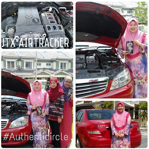 JTX Air Tracker, Radziah Radzi, Authenticircle, Agen JTX, Mercedes Benz, Azniza Arshad, JTX product