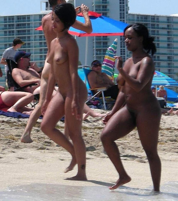 african american women nude at beach