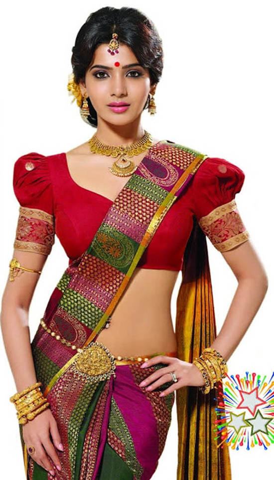 Samantha - 'Diwali Special' in Saree