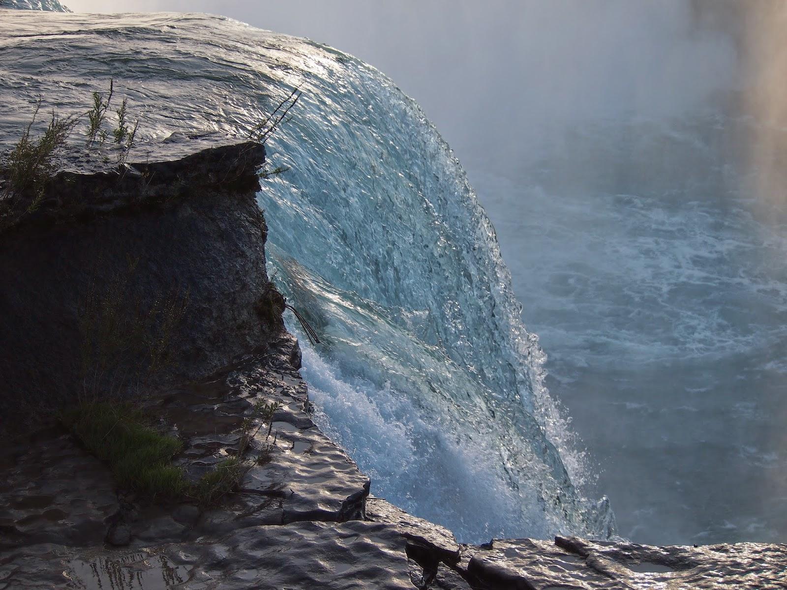 アメリカ側からのナイアガラの滝