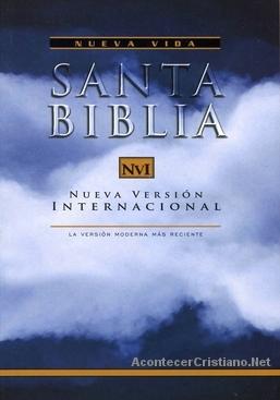 La Biblia Nueva Versión Internacional (NVI) aclara NO apoya homosexualismo