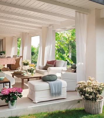 Bahçe ve veranda dekoru