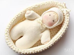 Lindo bebezinho e a cestinha