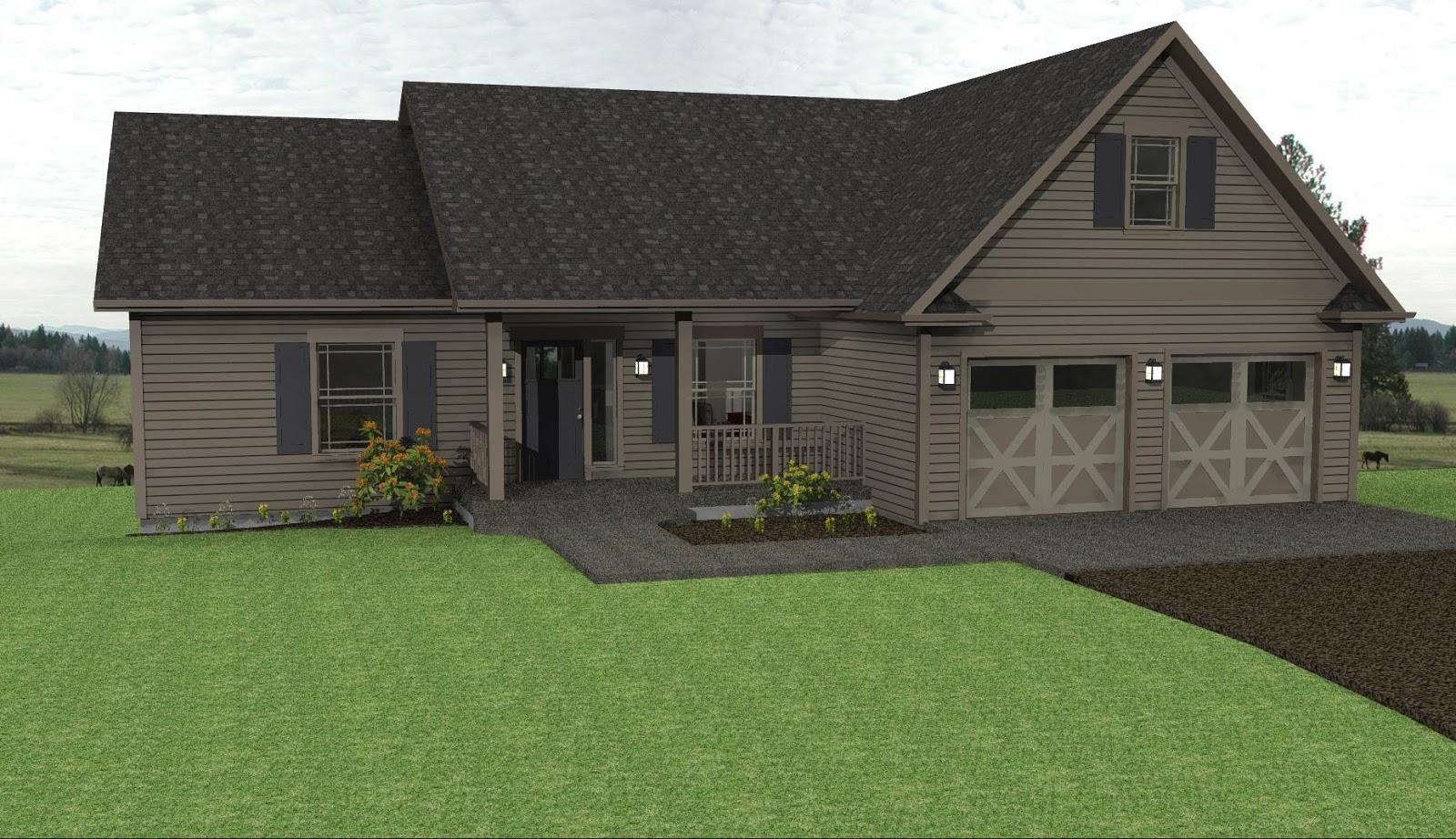 Descargar planos de casas y viviendas gratis fotos de for Casas de madera estilo americano