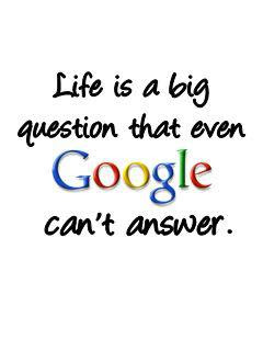 Google Cannot Answer