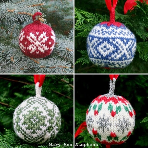 http://twostrands.com/2012/08/27/christmas-balls-a-free-knitting-pattern-pdf/