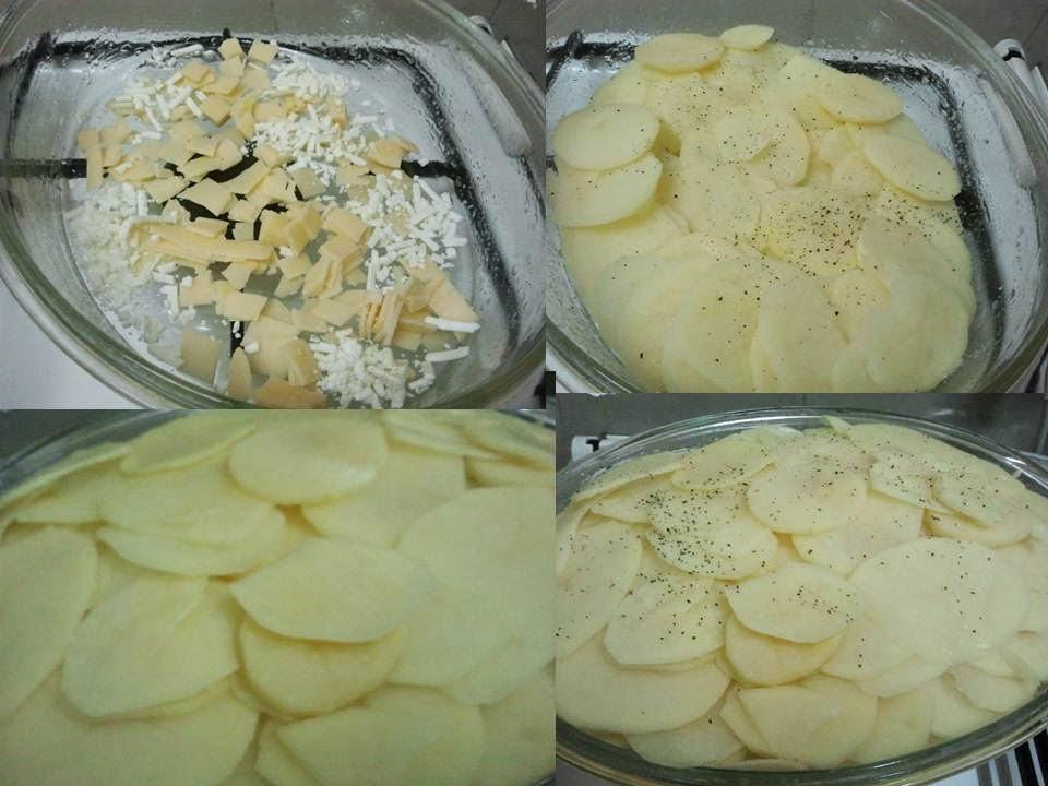 גראטן תפוחי אדמה גורדון רמזי - Gordon Ramsay potato gratin