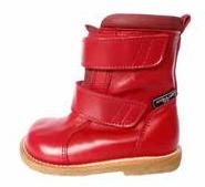Røde vinterstøvler til piger - børnestøvler 2012/2013
