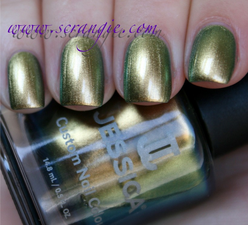 Scrangie: Jessica Peacock Queen Collection Fall 2011 Swatches and Review