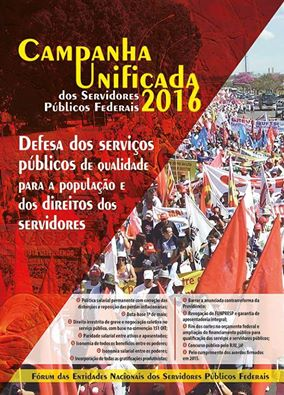 Campanha Unificada dos SPF´s 2016