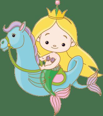 preciosa sirena infantil