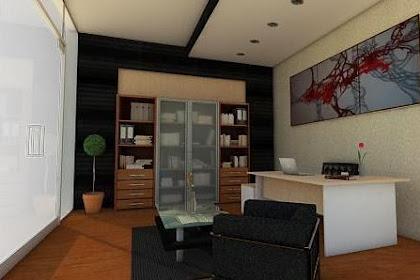 Jasa Gambar Desain Ruang Kerja di Rumah yang Simple dan Modern