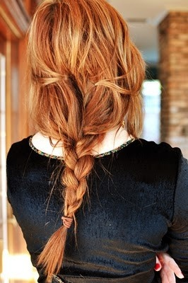 elegant braid hairstyle