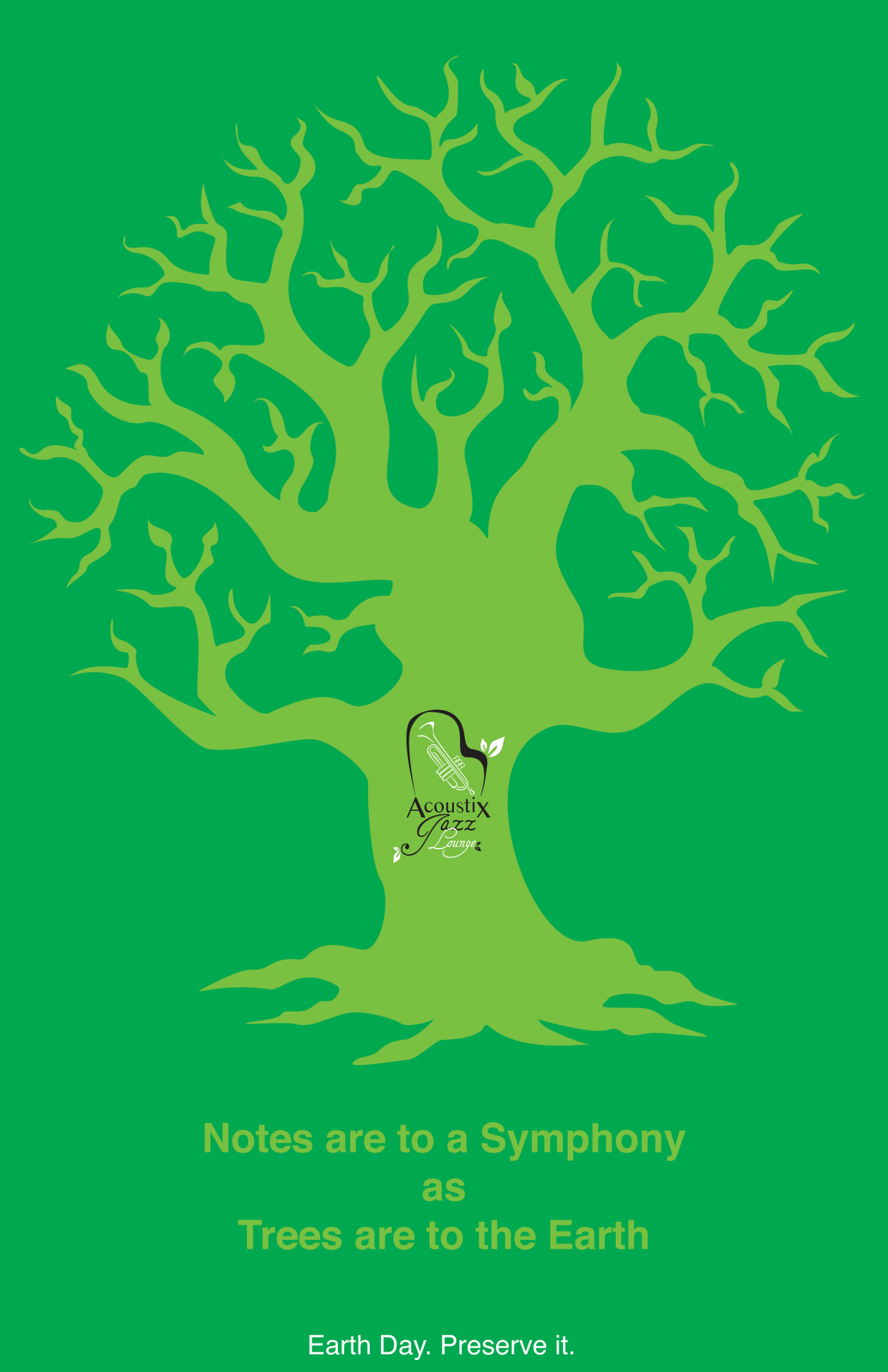 Poster design nature - Set Two Music Under The Trees The Way Mother Nature Intended This Will Actually Be For An Event I Will Ad Information About An Outside Concert In