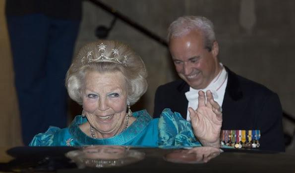Queen Maxima and King Willem-Alexander, Princess Margriet, Princess Beatrix, Pieter van Vollenhoven