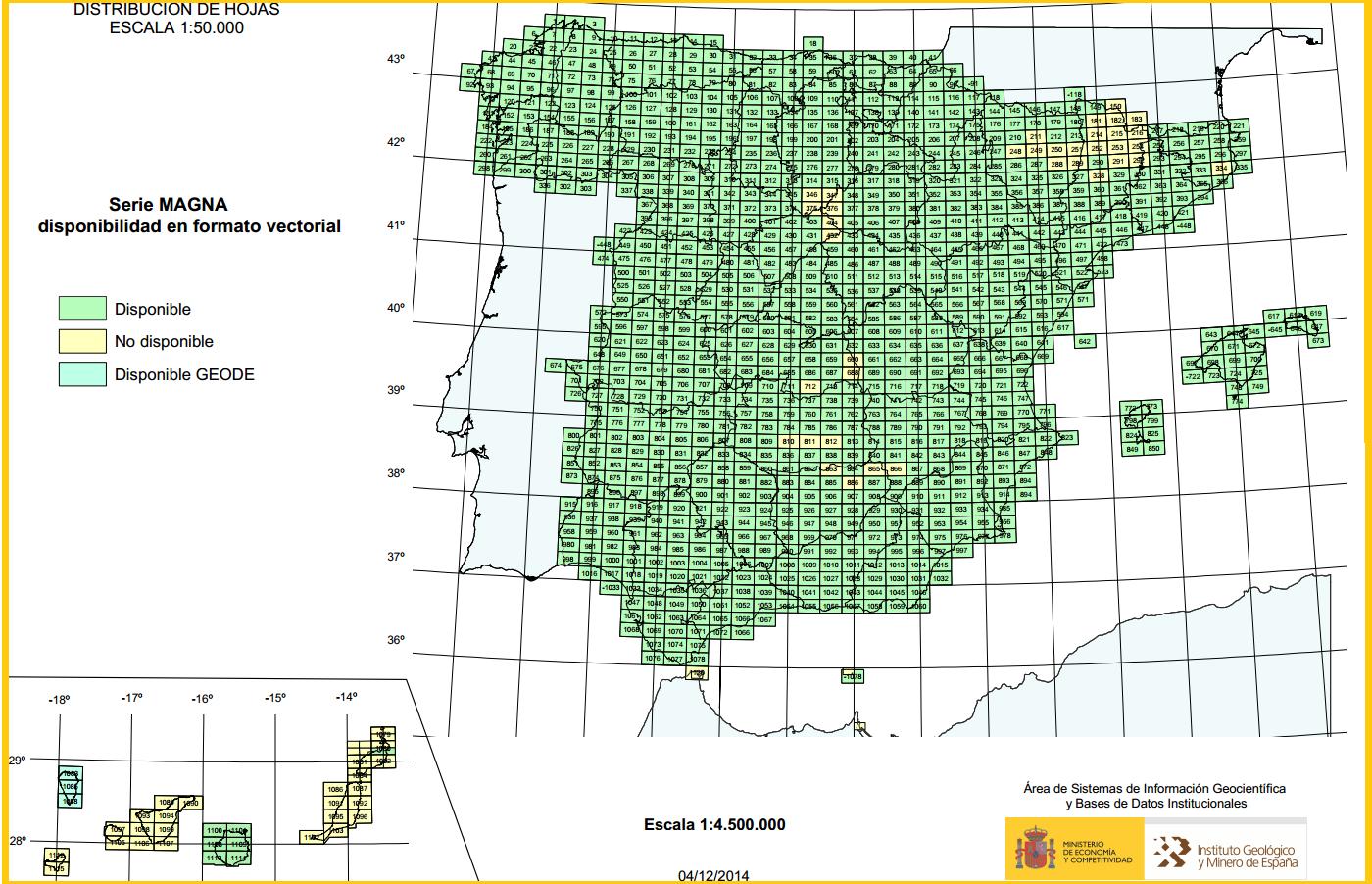 Blog de Geografía del profesor Juan Martín Martín: Mapa Geológico de ...