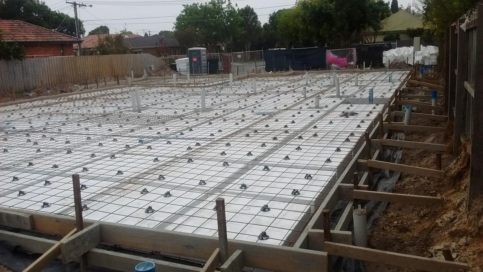 Let 39 s build a house slab preparation for Building a house on a slab