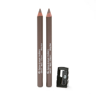 CoverGirl Brow and Eye Makers Brow Shaper and Eyeliner Swatches and Review
