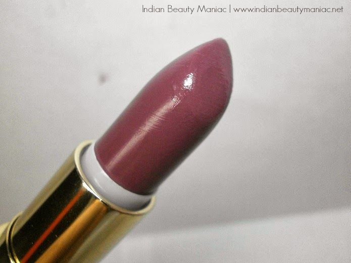 Oriflame Giordani Gold Lips Lipstick in Mauve Dream bullet, images swatches and review
