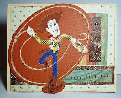 Epodo Toy Storys Woody Birthday Card