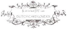 Designteam member of the Dutch Card Lovers