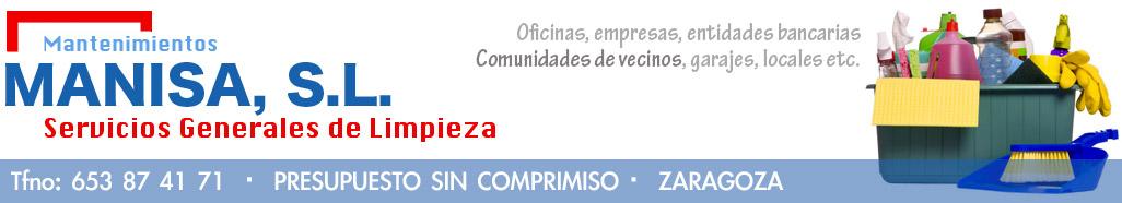 Limpiezas Manisa - Limpieza de comunidades y oficinas en Zaragoza