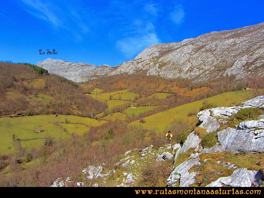 Rutas Montaña Asturias de las Pinturas Rupestres de Fresnedo: De vuelta a Fresnedo