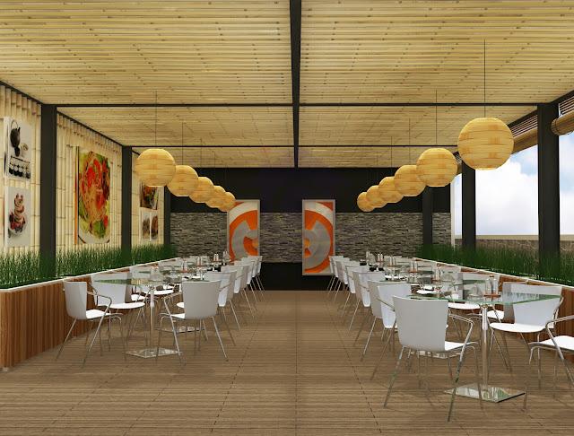 Desain Interior Cafe Modern & Cozy