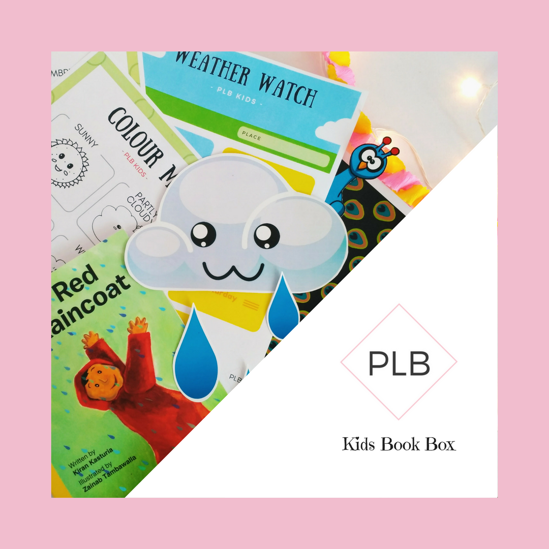 if you havent guessed it yet the theme for the plb kids august book box is rain and the book and resources included are designed to help learn about